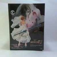 PVC Figure Nami Wedding Dress One Piece Banpresto Scultures IV Zoukei