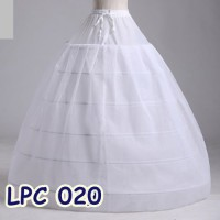 Jual Rok Tutu Pengembang l Petticoat Wedding Ball Gown(6Ring1layer)-LPC020 Murah