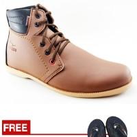Jual Sepatu Boots Pria Redknot Radeo Sneakers Lokal Keren Kualitas Ekspor Murah