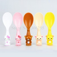 Sendok Nasi Entong Rice Spoon Hello Kitty Rilakkuma Berdiri
