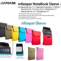 Jual CAPDASE mKeeper Notebook Sleeve Slek for Macbook Pro 15 Inch Murah