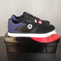 harga Sepatu Casual Sneakers Airwalk Homer Hitam List Biru Original Tokopedia.com
