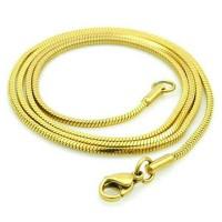 kalung titanium gold kalung pria wanita