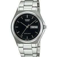 Jam tangan pria analog casio MTP-1240D-1ADF stainless steel krepyak