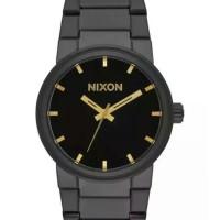 Jam Tangan Nixon Cannon All Black Gold