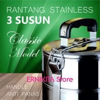 Rantang Makanan/Catering Stainless 3 Susun