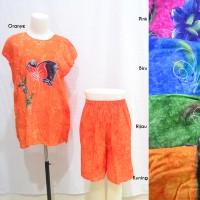 Jual Setelan Kulot Midi Baby Doll Daster Baju Pakaian Tidur 2 Murah