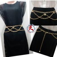 Ikat Pinggang Aksesoris Rantai Assy / Chain Assy Pearl Belt