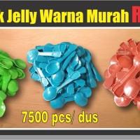 Jual Sendok Jelly Eskrim Puding Rp25 Warna Solid Murah