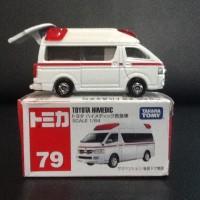 Tomica Toyota Himedic 79 Miniatur Mobil Ambulance