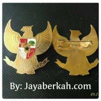 Pin Garuda Mikron emas ukuran besar