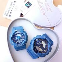 Jam Tangan Couple Merk Casio G-Shock & Baby-G