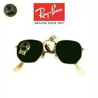 Jual Ray Ban Hexagonal RB 3548N Sunglasses ~ Kacamata Vintage Pria RayBan Murah