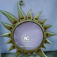 Pigura,mirror cermin matahari