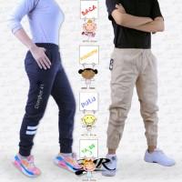 Celana Joger - Sporty Jogger Pants - Pria Wanita Unisex - Big Jumbo OK