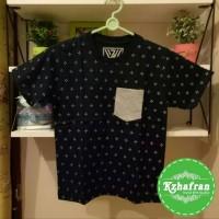 Jual Baju Kaos Anak Laki-Laki Lengan Pendek XL (7-8 Tahun) Bintang Kecil Murah