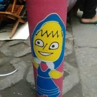 Celengan Gambar Marsha - Tempat Penyimpanan Uang Untuk Anak - Jogja