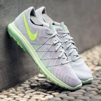 Nike Flex Fury 2 Original Grey lime green 1