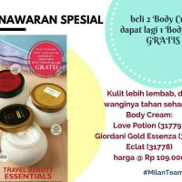 Oriflame Body Cream And Body Lotion