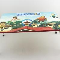 meja tulis anak/meja belajar anak import/meja tulis lipat kaki besi