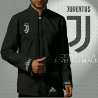 Baju Koko Bola Juventus Hitam