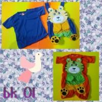 Baju Anak_setelan kodok macan