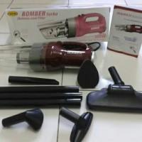 Vacum Cleaner Bomber Turbo Stainless / Vacuum / Vakum / Penyedot Debu