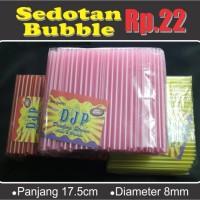 Jual Sedotan Bubble Popice 8 mm 4300 Pcs Murah