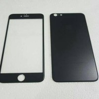 Jual Iphone 6 PLUS (2in1)Premium 3D Glass BLACK with camera protector BLACK Murah