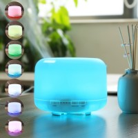 Essential Oil Aroma Diffuser Humidifier 7 LED Color Night Light-500ML