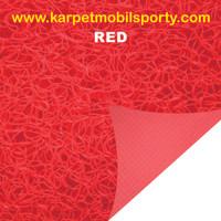 Karpet Lantai Mie Bihun Meteran Merah (Red)