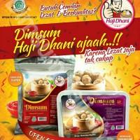 Jual Paket Dimsum Super dan Premium Dimsum Haji Dhani Murah