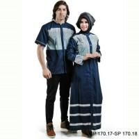 Harga baju couple muslim pasangan spiccato pria sp170 17 wanita sp170 | Pembandingharga.com