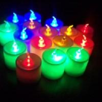 Jual Lilin Elektrik Led 7warna Murah