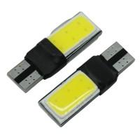 Lampu Parkir Mobil LED Canbus T10 194 501 W5W SMD COB 2PCS