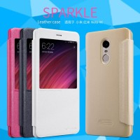 Xiaomi Redmi Note 4x Flip Case - Nillkin Sparkle Leather Case Series