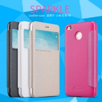Xiaomi Redmi 4x Flip Case - Nillkin Sparkle Leather Case Series