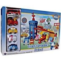 Mainan Anak Robocar Poli Transformable Robot 660-192