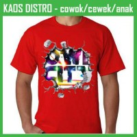 Kaos 3D Retak Owl City AX50 Oblong Distro
