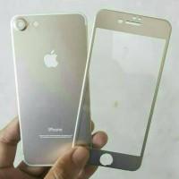 Jual IPHONE 7 PLUS(2IN1) PREMIUM 3D GLASS GOLD WITH CAMERA PROTECTOR GOLD Murah