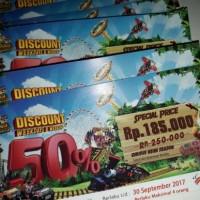 Tiket Voucher Jungleland / Jungle land Disc 50% untuk 4 Orang