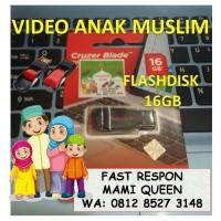 Video Anak Muslim format mp4 dalam Flashdisk Sandisk 16GB