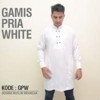 Jual Baju Muslim Pria koko Putih, Baju Muslim, Baju Koko Murah