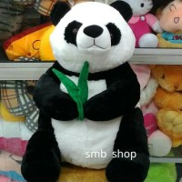 Boneka Panda Pegang daun Jumbo Besar Lucu e540190a95