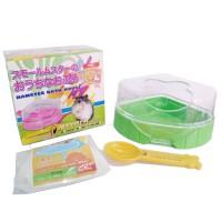 litter box Bak Pasir Sauna Tempat Mandi Hamster landak mini