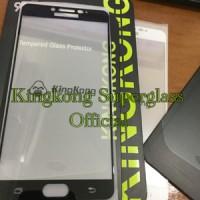 KingKong Tempered Glass Samsung C9 PRO Full Cover Kingkong Anti Gores