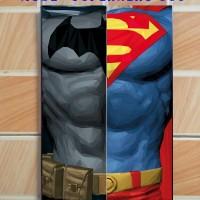 Jual Wall Decor Poster Art Kayu Unik 20x30 -Superhero Seriess Murah