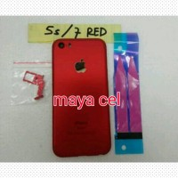 Casing Housing Iphone 5s Model Iphone 7 Red Edition