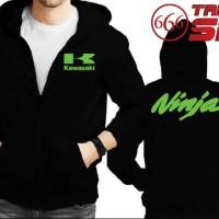 Jaket Hoodie Zipper Kawasaki Ninja - Banyak Warna