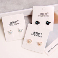 Anting korea trendy murah unik fashion Dior cantik panjang mutiarayy